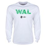 Wales Euro 2016 Element Long Sleeve T-Shirt (White)