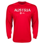 Austria Euro 2016 Core Long Sleeve T-Shirt (Red)