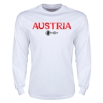 Austria Euro 2016 Core Long Sleeve T-Shirt (White)