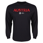 Austria Euro 2016 Core LS T-Shirt (Black)