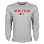 Austria Euro 2016 Core Long Sleeve T-Shirt (Gray)