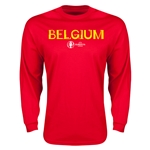 Belgium Euro 2016 Core Long Sleeve T-Shirt (Red)