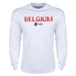 Belgium Euro 2016 Core Long Sleeve T-Shirt (White)