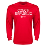 Czech Republic Euro 2016 Core LS T-Shirt (Red)
