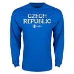 Czech Republic Euro 2016 Core LS T-Shirt (Royal)