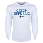 Czech Republic Euro 2016 Core Long Sleeve T-Shirt (White)