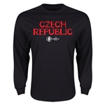 Czech Republic Euro 2016 Core LS T-Shirt (Black)