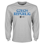 Czech Republic Euro 2016 Core Long Sleeve T-Shirt (Gray)
