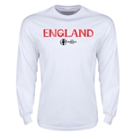 England Euro 2016 Core Long Sleeve T-Shirt (White)