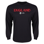 England Euro 2016 Core Long Sleeve T-Shirt (Black)