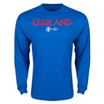 England Euro 2016 Core LS T-Shirt (Royal)