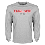 England Euro 2016 Core Long Sleeve T-Shirt (Gray)