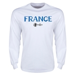 France Euro 2016 Core Long Sleeve T-Shirt (White)