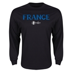 France Euro 2016 Core Long Sleeve T-Shirt (Black)