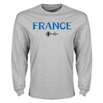 France Euro 2016 Core Long Sleeve T-Shirt (Gray)