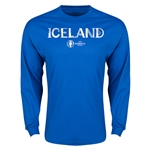 Iceland Euro 2016 Core Long Sleeve T-Shirt (Royal)