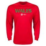 Wales Euro 2016 Core Long Sleeve T-Shirt (Red)