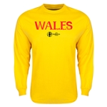 Wales Euro 2016 Core Long Sleeve T-Shirt (Yellow)
