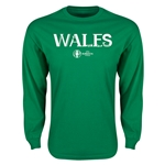 Wales Euro 2016 Core Long Sleeve T-Shirt (Green)