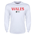 Wales Euro 2016 Core LS T-Shirt (White)