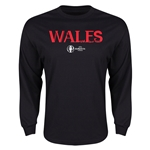 Wales Euro 2016 Core LS T-Shirt (Black)