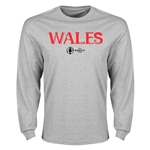 Wales Euro 2016 Core Long Sleeve T-Shirt (Gray)