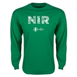Northern Ireland Euro 2016 Elements LS T-Shirt (Green)