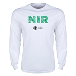 Northern Ireland Euro 2016 Elements LS T-Shirt (White)