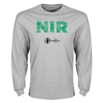 Northern Ireland Euro 2016 Elements LS T-Shirt (Grey)