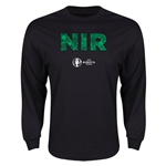 Northern Ireland Euro 2016 Element Long Sleeve T-Shirt (Black)