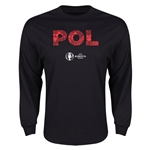 Poland Euro 2016 Element Long Sleeve T-Shirt (Black)