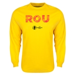 Romania Euro 2016 Element Long Sleeve T-Shirt (Yellow)