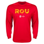 Romania Euro 2016 Element Long Sleeve T-Shirt (Red)