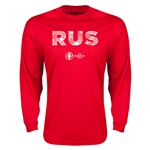 Russia Euro 2016 Element Long Sleeve T-Shirt (Red)