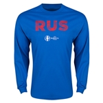 Russia Euro 2016 Element Long Sleeve T-Shirt (Royal)