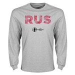 Russia Euro 2016 Element Long Sleeve T-Shirt (Grey)