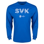 Sweden Euro 2016 Element Long Sleeve T-Shirt (Royal)