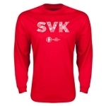 Sweden Euro 2016 Element Long Sleeve T-Shirt (Red)