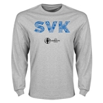 Sweden Euro 2016 Element Long Sleeve T-Shirt (Grey)