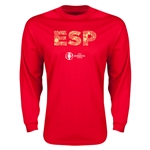 Spain Euro 2016 Element Long Sleeve T-Shirt (Red)