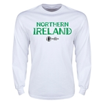 Northern Ireland Euro 2016 Core LS T-Shirt (White)