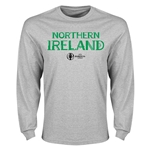 Northern Ireland Euro 2016 Core Long Sleeve T-Shirt (Gray)