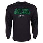 Northern Ireland Euro 2016 Core Long Sleeve T-Shirt (Black)