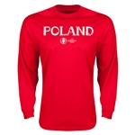Poland Euro 2016 Core Long Sleeve T-Shirt (Red)