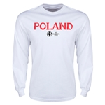Poland Euro 2016 Core Long Sleeve T-Shirt (White)