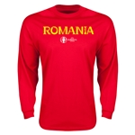 Romania Euro 2016 Core Long Sleeve T-Shirt (Red)