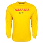 Romania Euro 2016 Core Long Sleeve T-Shirt (Yellow)