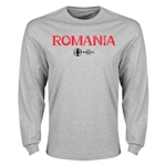 Romania Euro 2016 Core Long Sleeve T-Shirt (Gray)