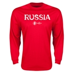 Russia Euro 2016 Core LS T-Shirt (Red)