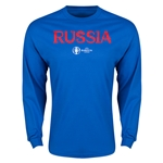 Russia Euro 2016 Core LS T-Shirt (Royal)